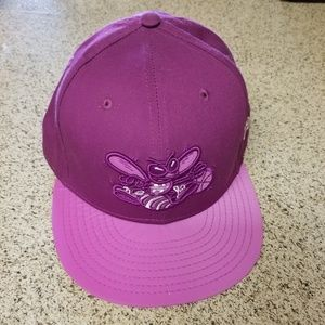 Charlotte Hornets New Era Fitted Hat 7 5/8